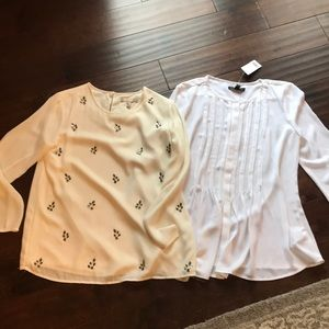 TWO Banana Republic Blouses - selling together